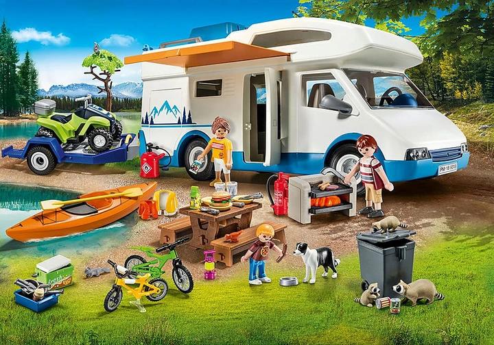 Playmobil 9318 Family Fun Zestaw Kampingowy Kamper 8723456394 Oficjalne Archiwum Allegro Camping Lego Room Playmobil