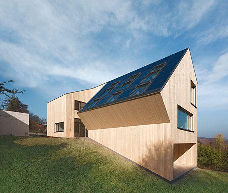 Vorarlberger Holzbaukunst Objekt Sunlighthouse