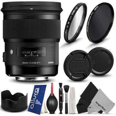 Sigma 50mm F 1 4 Ex Dg Hsm Lens For Canon Eos 760d 750d 700d 650d 600d 550d 100d 1200d 1100d Accessories Art Lens Lens Dslr