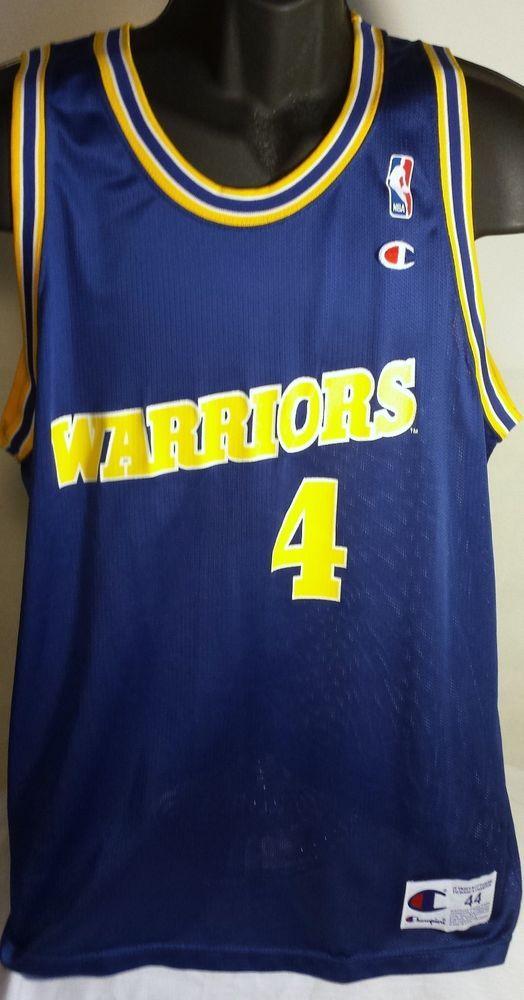 002658bfe Vintage Chris Webber Golden State Warriors Jersey Size 44 Champion  Champion   GoldenStateWarriors  ChrisWebber