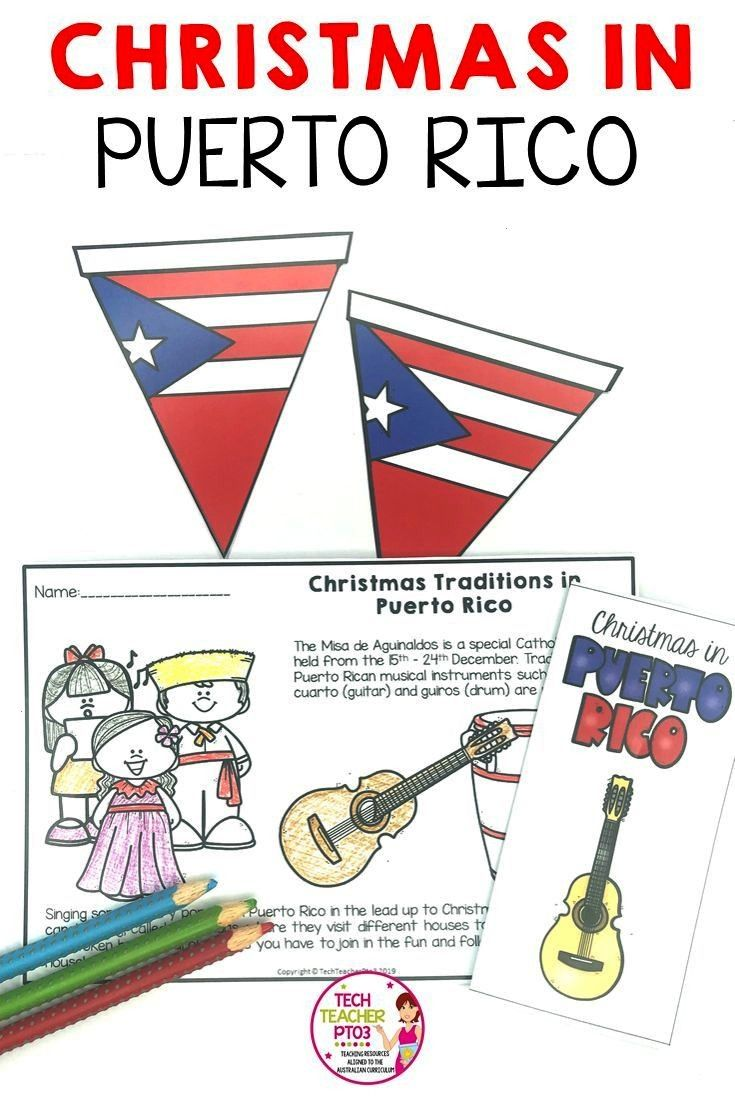 in Puerto Rico I Holidays Around the World Take your students to Puerto Rico at Christmas time! Int