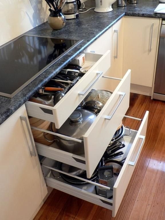 7 Kitchen Drawers That Will Make Life Easier Kitchen Drawers
