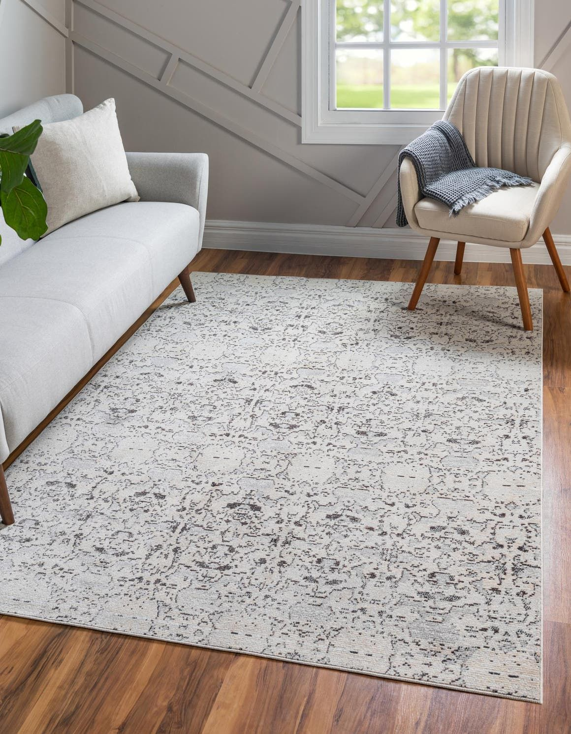 Light Gray Amulet Area Rug In 2020 With Images Rugs Light