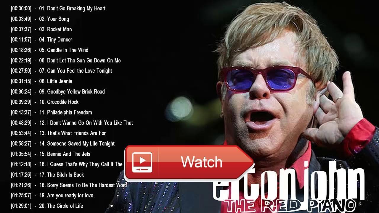 Elton john best love songs