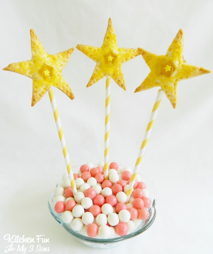 Kitchen Fun With My 3 Sons: Princess Wand Lemon Star Pie Pops ...