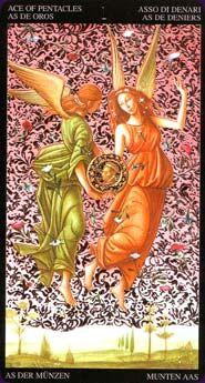 The Golden Botticelli Tarot By A Atanassov As Of Golds Tarot