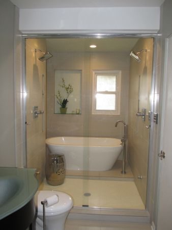 Wet Room Shower And Bathtub Google Search