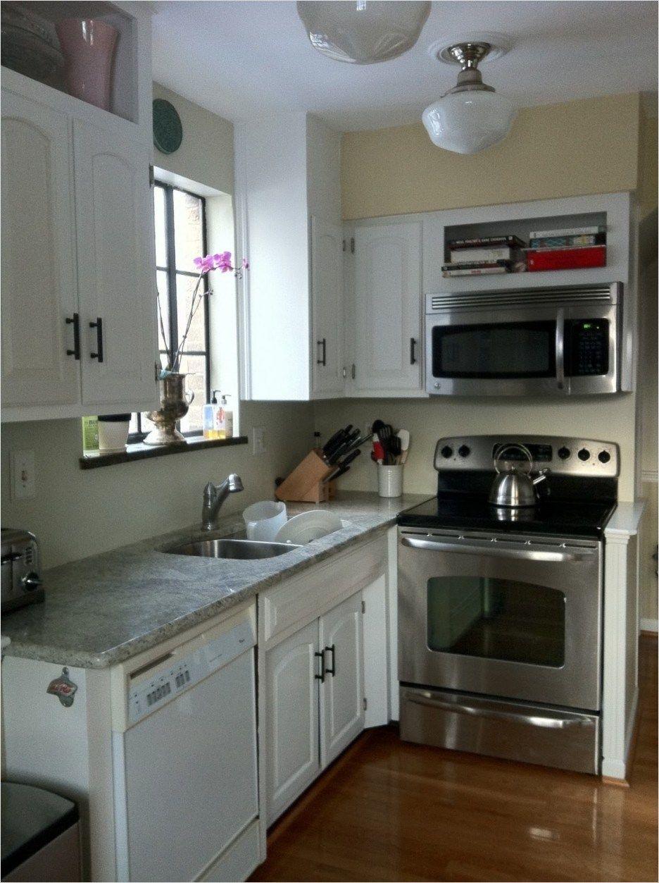 40 Best Cheap Cabinet For Small Kitchens Styles Ideas 92 White Solid Wood Small Kitchen Cabinet Using Gre Renovasi Dapur Kecil Desain Dapur Modern Dapur Modern