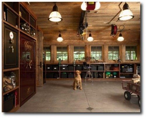 Garage tool storage free genius diy garage storage and for Beautiful garage interiors