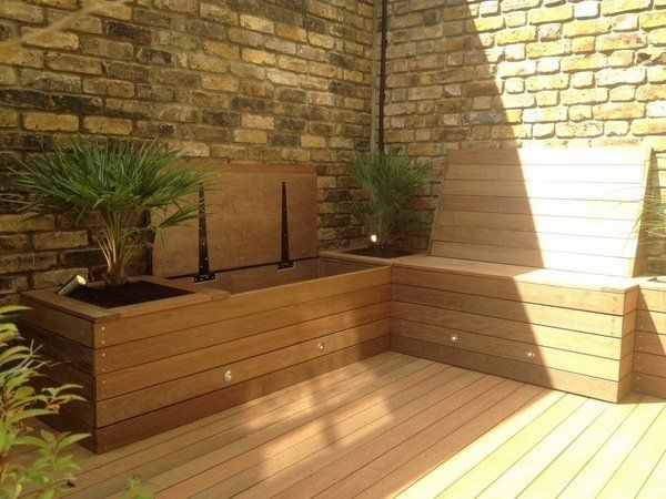 Garden Storage Ideas How To Keep The Outdoor Space Organized Backyard Seating Small Yard Small Backyard