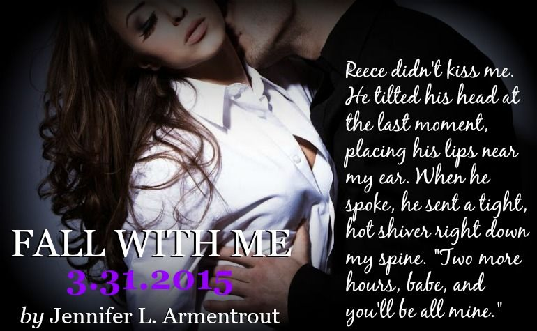 Jennifer L. Armentrout Fall With Me! | Book boyfriends, Book teaser, Book quotes