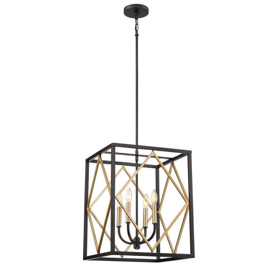 multi light pendant lighting fixtures. $164.00 Quoizel Platform 16-in Black With Gold Hardwired Multi-Light Pendant Multi Light Lighting Fixtures M