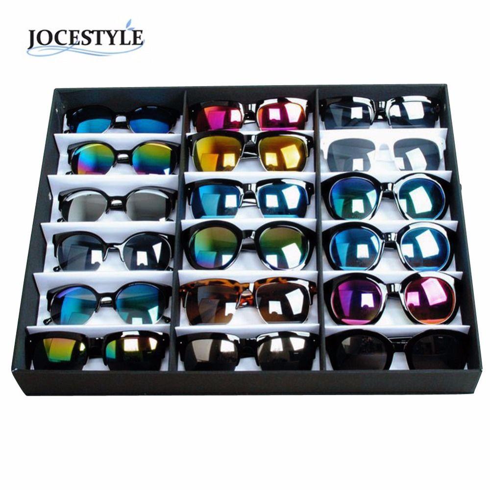 a619c71d023 buy brand new sunglasses display box 18 sunglasses glasses retail shop  display stand storage box  jewelry  display  trays