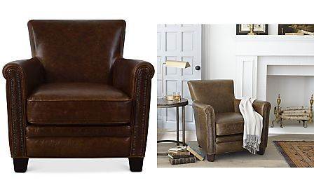 Fantastic Norwell Leather Chair Craftsman Style Design Inspirations Pabps2019 Chair Design Images Pabps2019Com