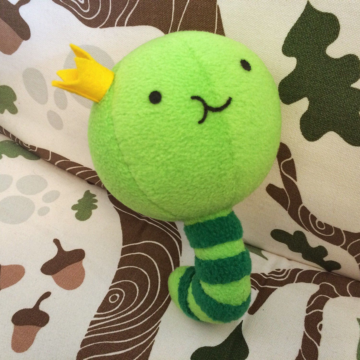 Adventure Time King Worm plush