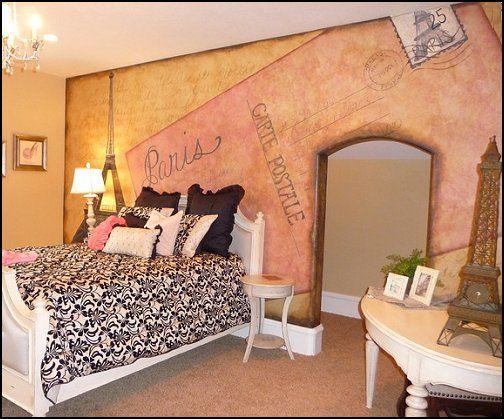 paris designs | french+theme+bedrooms-paris+themed+bedrooms ...