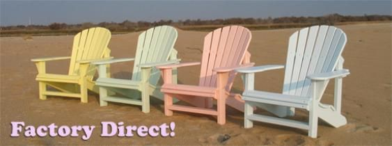 Recycled Plastic Adirondack Chairs Porch Rockers Built to