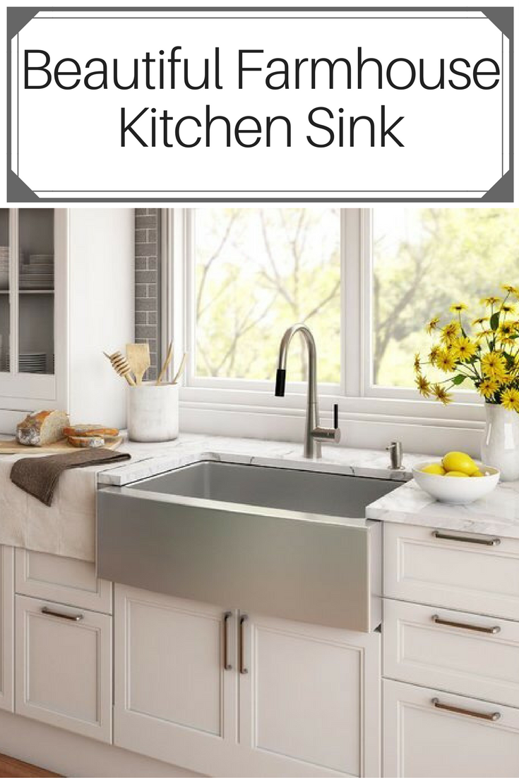 Beautiful Deep Farmhouse Kitchen Sink A Must In Every Woman S