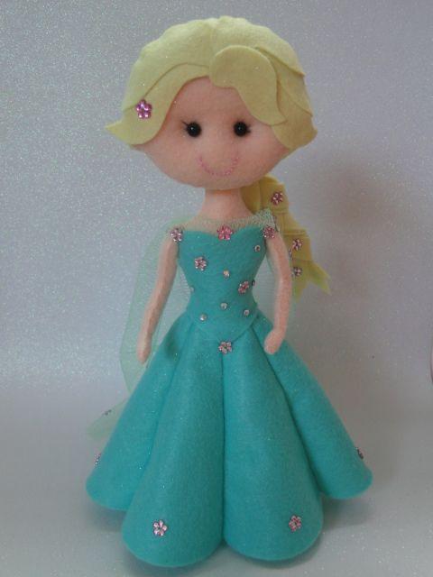 Elsa Frozen Fever - Feltro