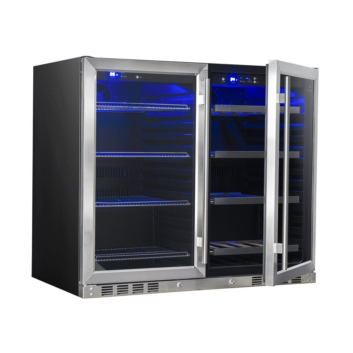 39 Inch Under Counter Wine And Beer Fridge Combo in 2020