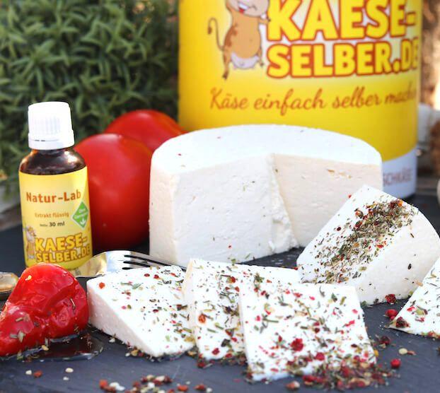 Käse selber machen (für Einsteiger) - Typ Feta   Rezept