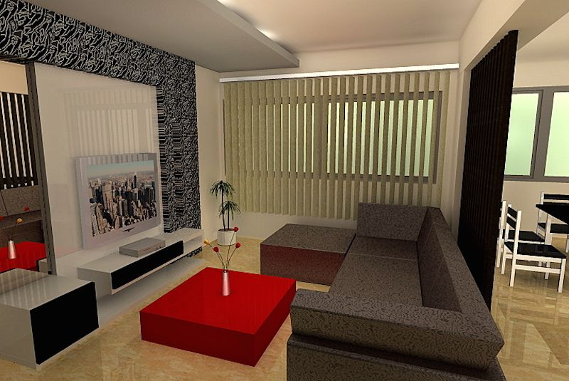 Interior Design Contemporary Theme With Images Hall Interior