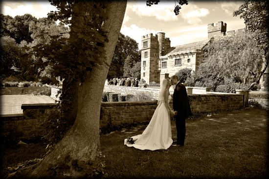 Haunted castle wedding venue in the UK. Could make for an ...