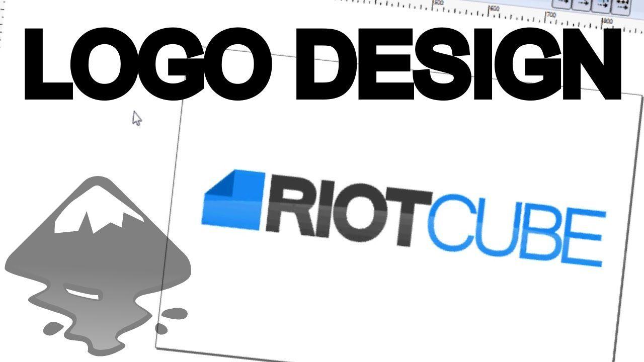 Designing A Simple Logo In Inkscape Simple Logo Design Web Design