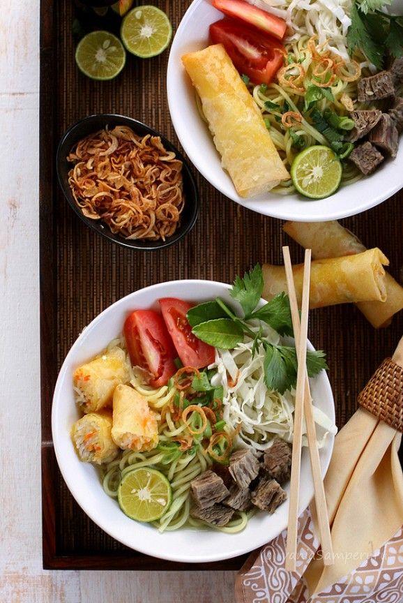 Soto Mie Resep Masakan Malaysia Fotografi Makanan Resep Masakan Asia