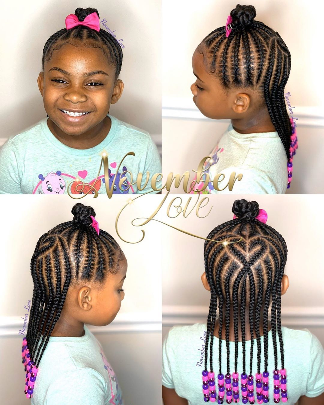 November Love On Instagram Children S Braids And Beads Booking Link In Bio Childrenhairstyle In 2020 Kids Hairstyles Hair Styles Cute Little Girl Hairstyles