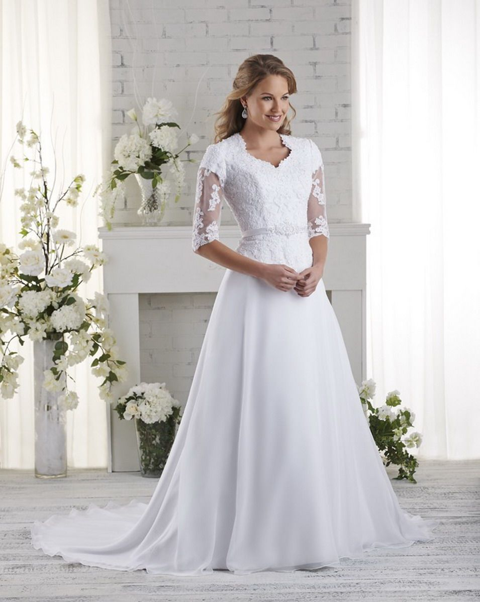 Bliss Modest Bridal Gown Style 2518 Modest Wedding Dresses Modest Bridal Gowns Wedding Dresses