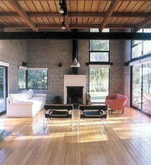 Minimalista rustico entrepisos arquitectura for Decoracion interior de casas minimalistas