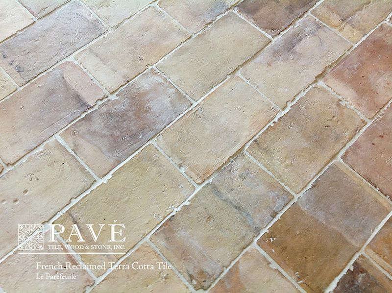Pav Tile Wood Stone Inc French Reclaimed Terra