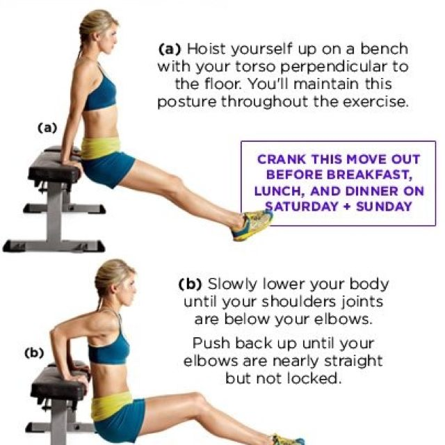 You Can Use Your Couch Or A Chair Exercise Arm Flab Fitness Body