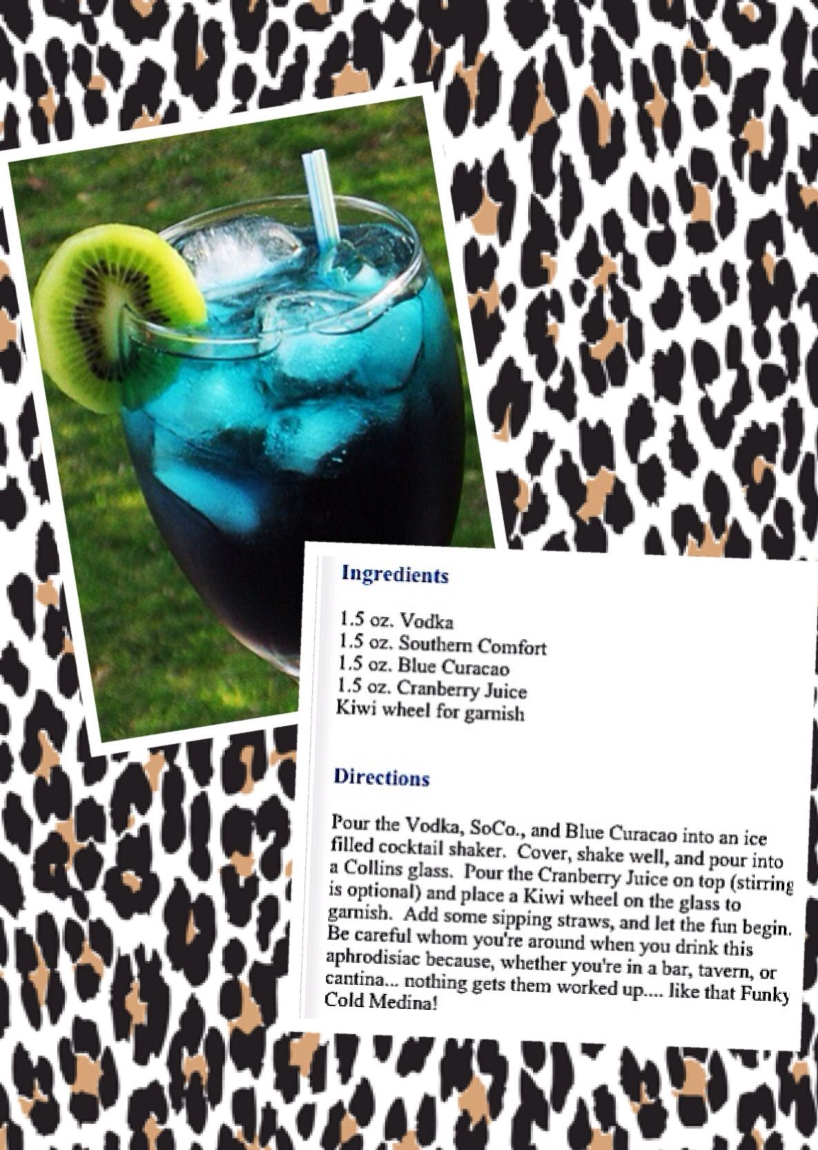 The Funky Cold Medina! ;) | Drinks and Dranks ;) | Pinterest ...