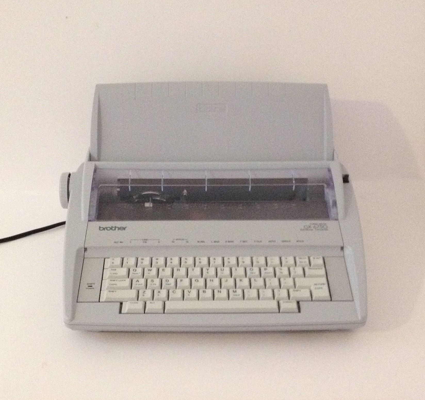excited to share the latest addition to my etsy shop new brother rh pinterest com brother gx-6750 portable electronic typewriter manual brother gx-6750 user manual