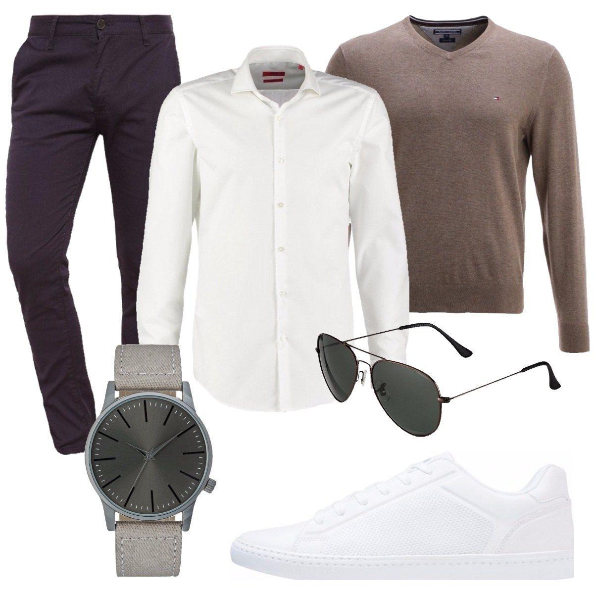 Sneakers e camicia: outfit uomo Casual per tutti i giorni | Bantoa