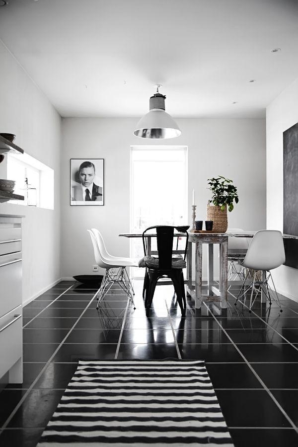 Estilo nórdico en blanco y negro tendencias en decoración 2013 ...