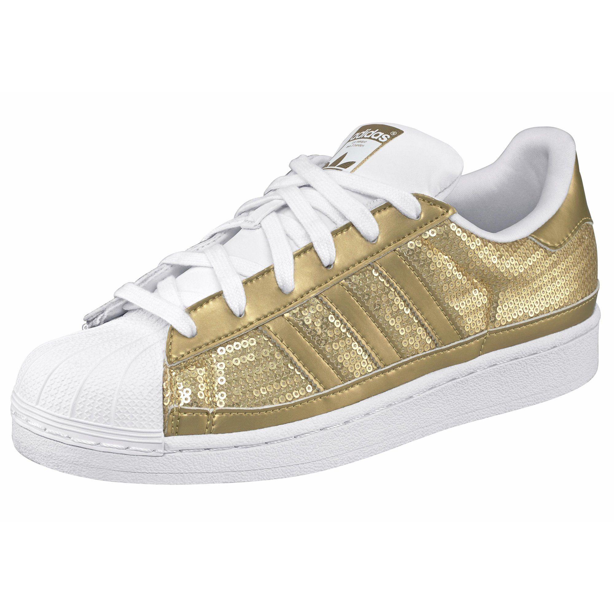 nouveau produit c8d5b c28d4 adidas Originals Superstar W tennis basse imprimées ou ...