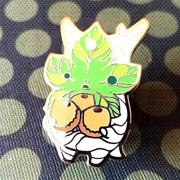 Korok Pins made by Jeannie Lee -