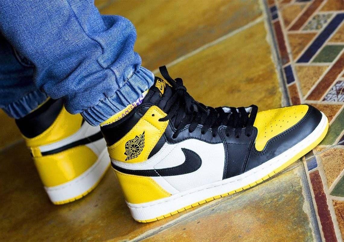 yellow toe jordan 1