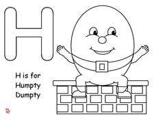 Free making learning fun humpty dumpty coloring making learning fun humpty dumpty coloring pronofoot35fo Image collections