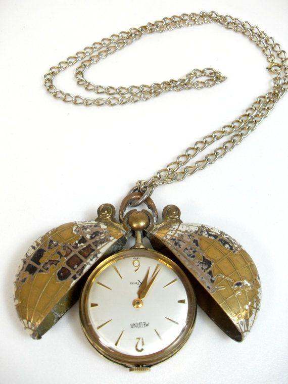 8a22ef6c9 This is a vintage Medana Germany XTENSA Swiss Watch, can be used as a pocket  watch or a pendent, it is currently on a 21 inch long gold colored chain