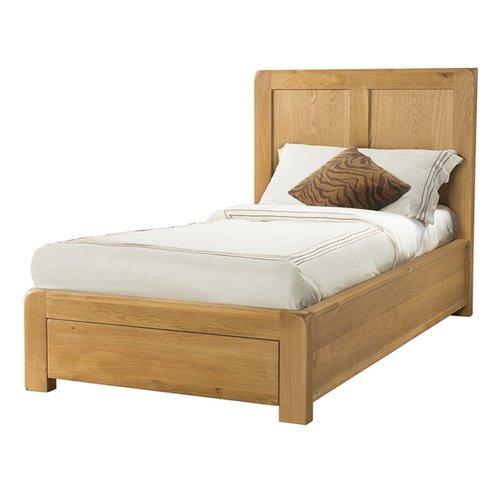 Gracie Oaks Bengal Bed Frame Bed Frame Oak Bedroom Furniture Pine Bed Frame