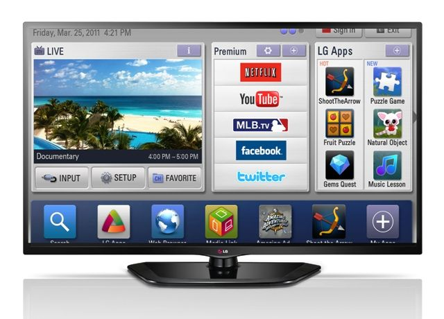 50 inch LG TV : LG 50LN5700 Smart TV Specifications and