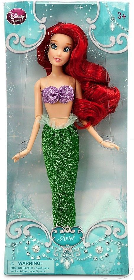 6450fce7192a Disney Store The Little Mermaid Ariel Poseable Doll Fin Tail and Legs NEW # Disney