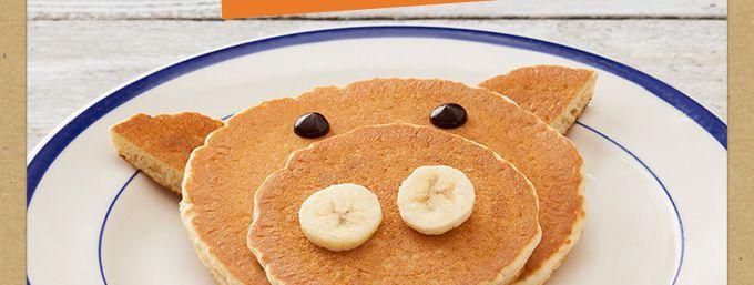 Little Piggy Pancakes from Bob Evans Restaurants