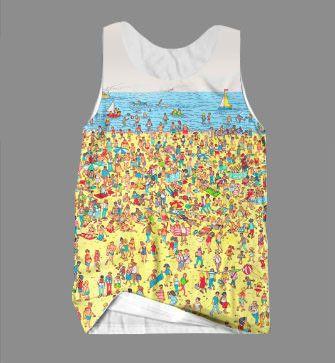 5da44ee9e5 Beach Nostalgia Men's Tank | Want | Beach t shirts, Beach, Beach tanks