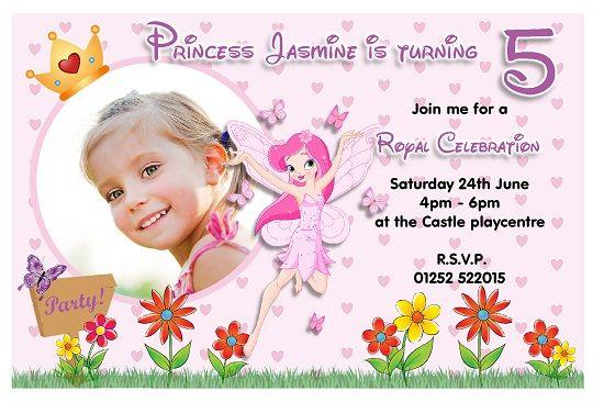 Nice Fairy Birthday Invitations Ideas for Her FREE Printable - birthday invitation cards templates