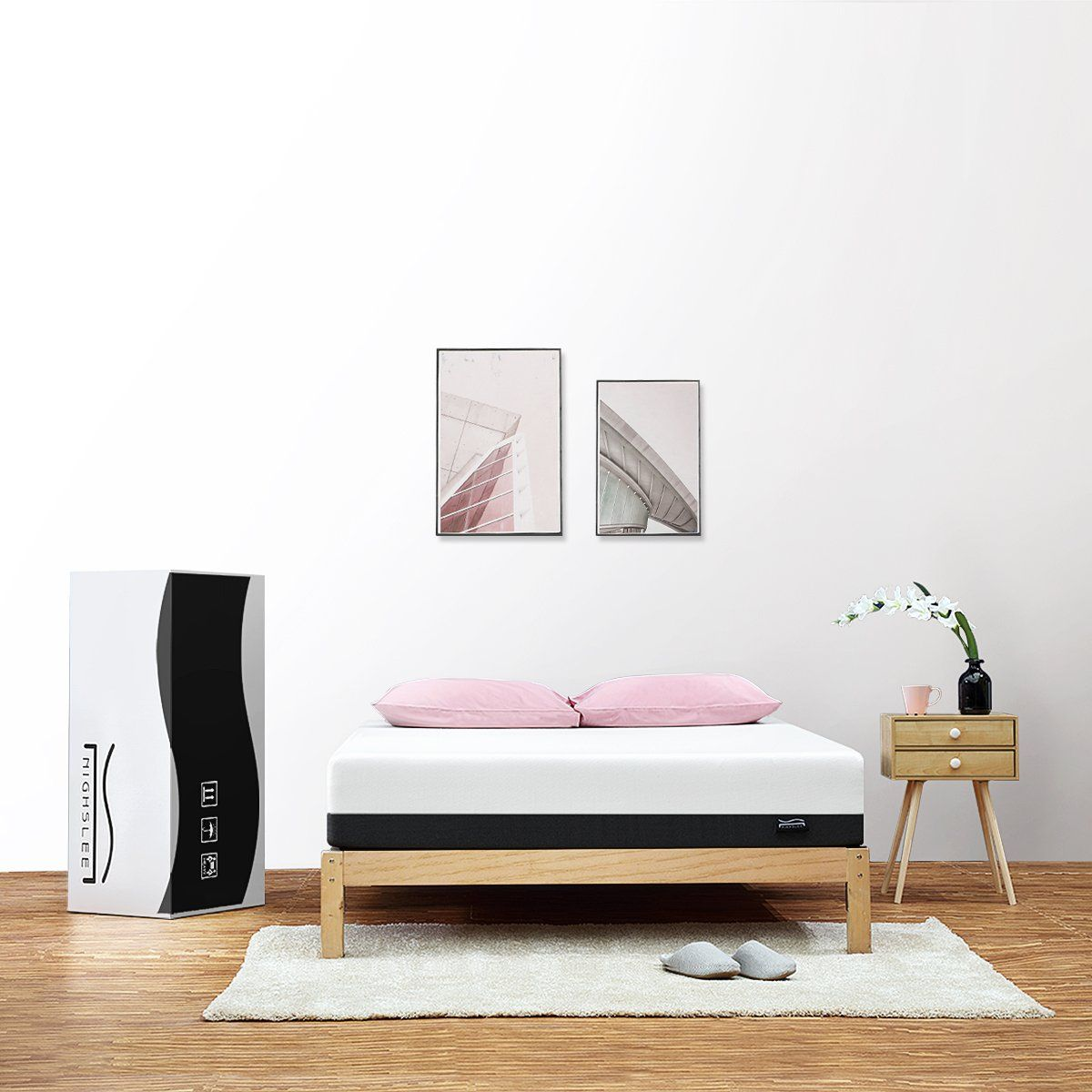 nighslee mattress breathable twin mattress with cooling gel